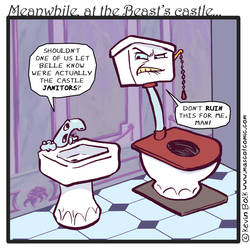Meanwhile at the Beast's Castle...