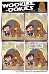 Wookie-Ookies: Han and Chewie
