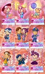 Matsuricon 2015 Badge Set by kevinbolk