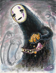 Spirited Away No-Face Commission
