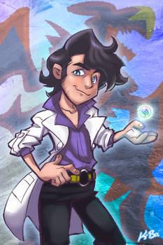 Professor Sycamore Pokemon X Y