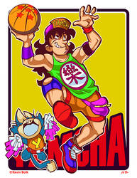 Dragon B-Ball YAMCHA by kevinbolk