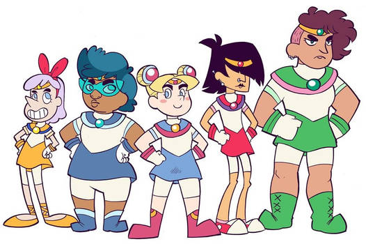 SECRET NETFLIX SAILOR MOON REBOOT LEAKED!!!