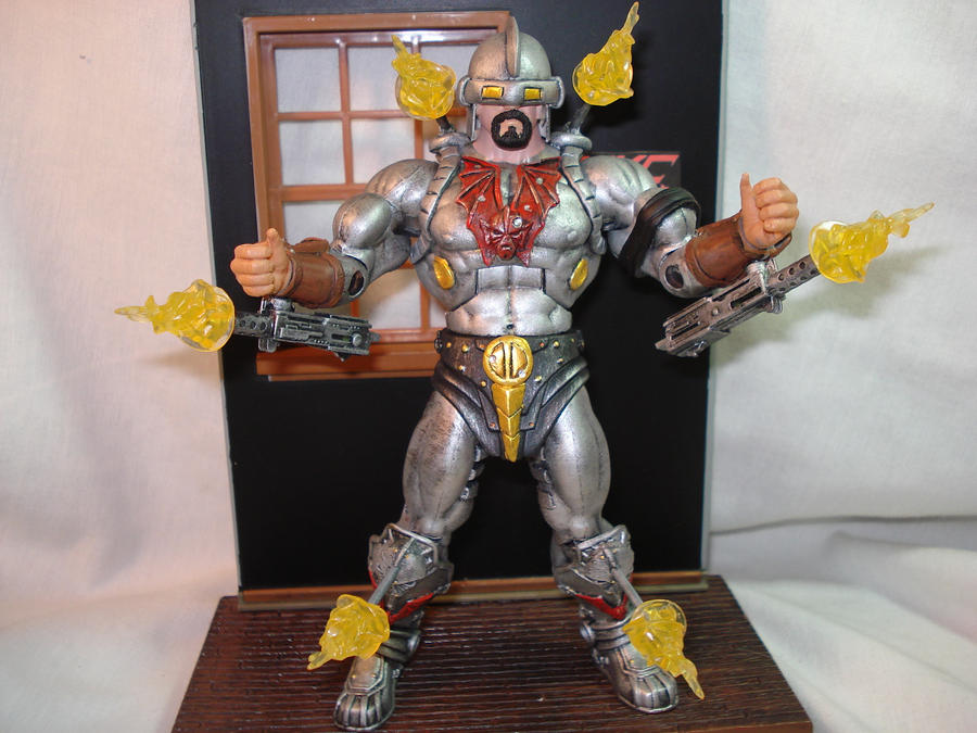 motuc custom Colonel Blast by hunterknightcustoms