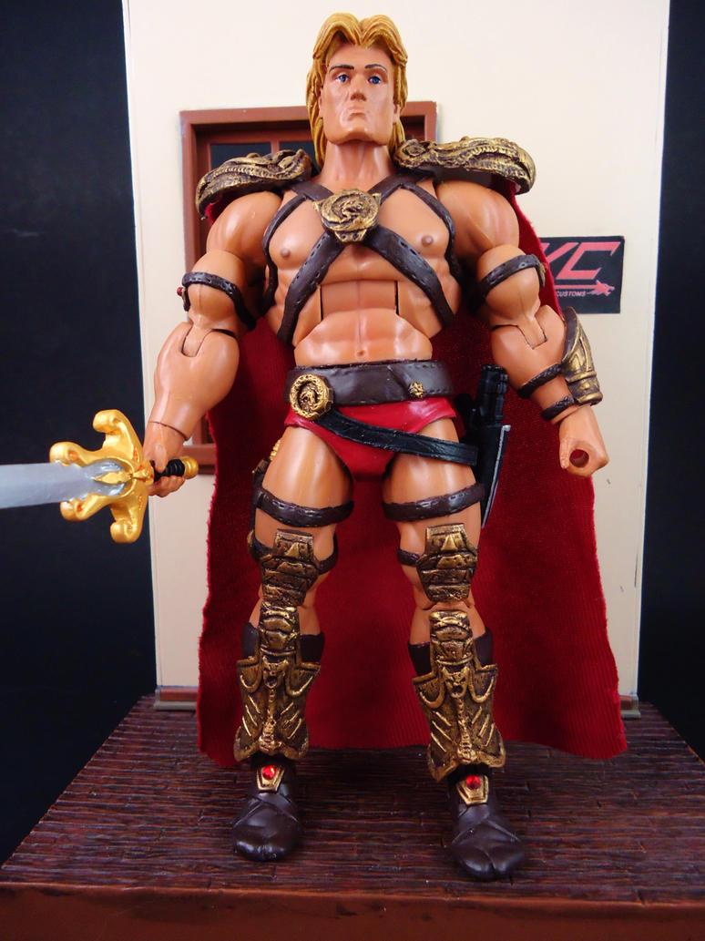 Custom movie He-man ver 2.0 by hunterknightcustoms