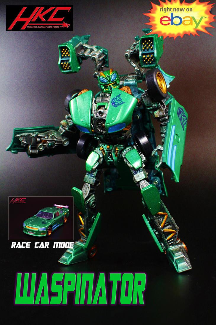 Custom WASPINATOR Transformers the Last Knight by hunterknightcustoms