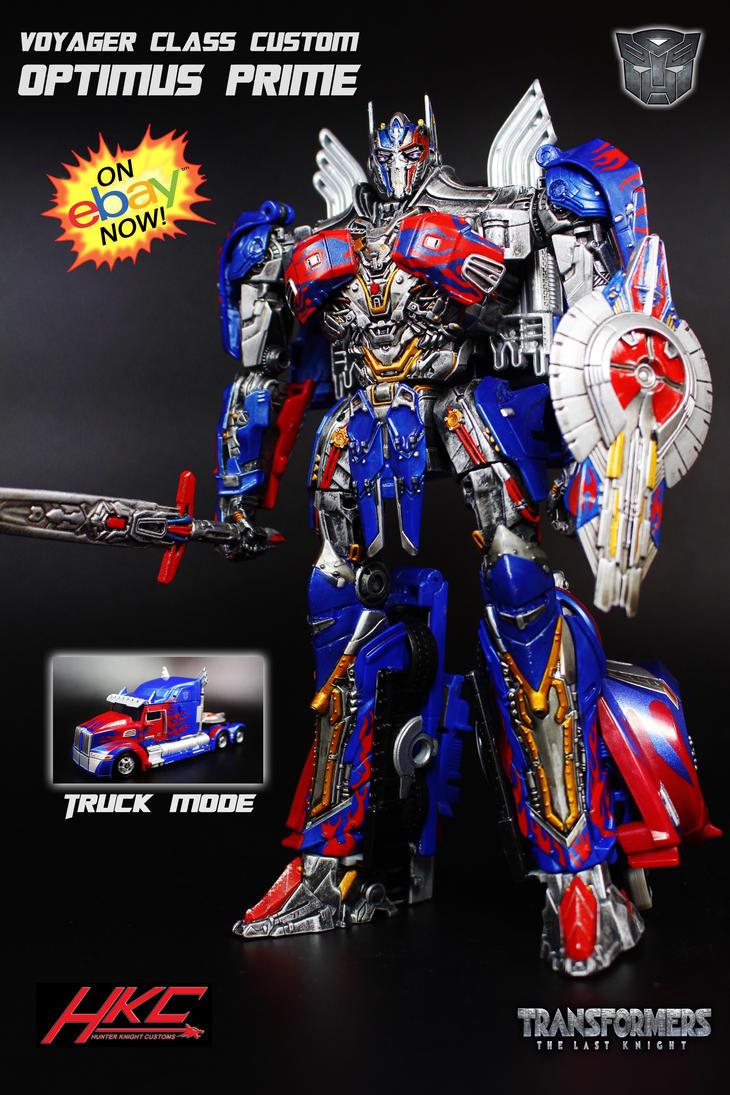 Custom Transformers The Last Knight Optimus Prime by hunterknightcustoms