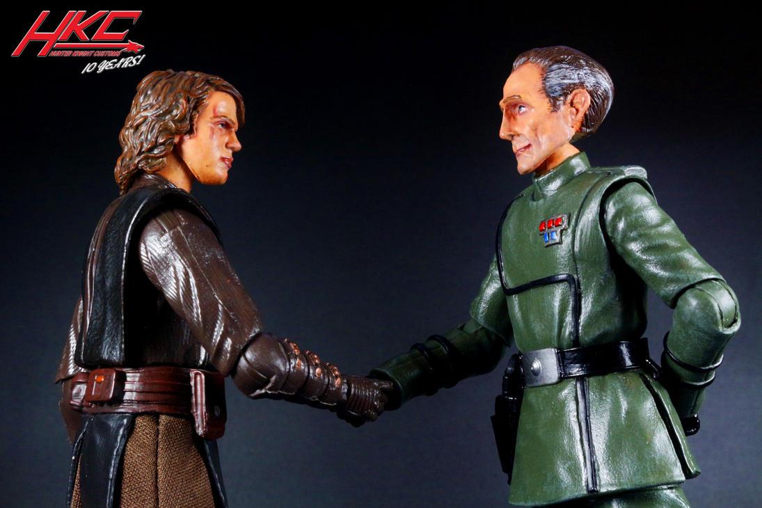 Captain Tarkin Custom Star Wars Black Series by hunterknightcustoms