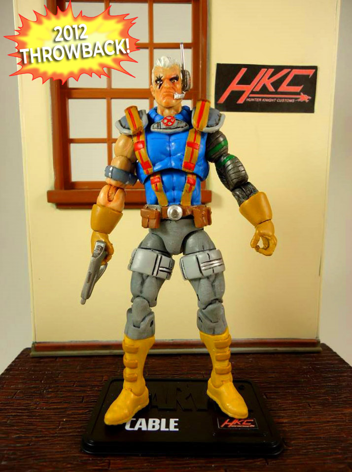Custom Marvel Universe Cable X-men Animated Style  by hunterknightcustoms
