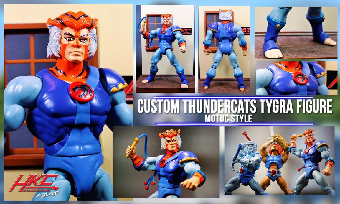 Custom Tygra Figure By Hunter Knight Customs by hunterknightcustoms