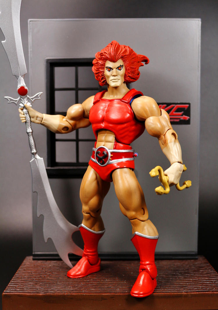 Custom Evil Lion-O Thundercats classics by HKC by hunterknightcustoms