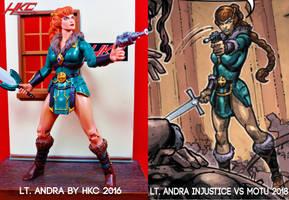 Character design as seen in INJUSTICE vs MOTU
