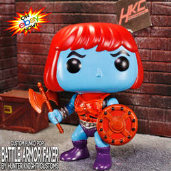Custom Battle Armor Faker Funko Pop! figure