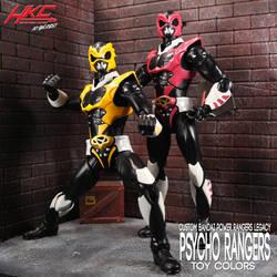 Power Rangers Legacy Pink Yellow Psycho Ranger