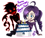 Happy Birthday Zone-tan!