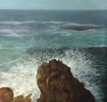 Rock in the Mediterranean Sea