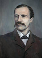 Portrait of G.S Rakovski by selma-todorova