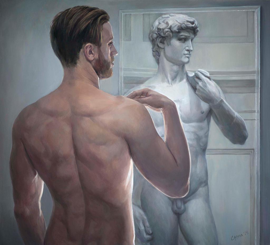 Reincarnations David by selma-todorova