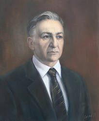Portrait of Nikola Petkov by selma-todorova