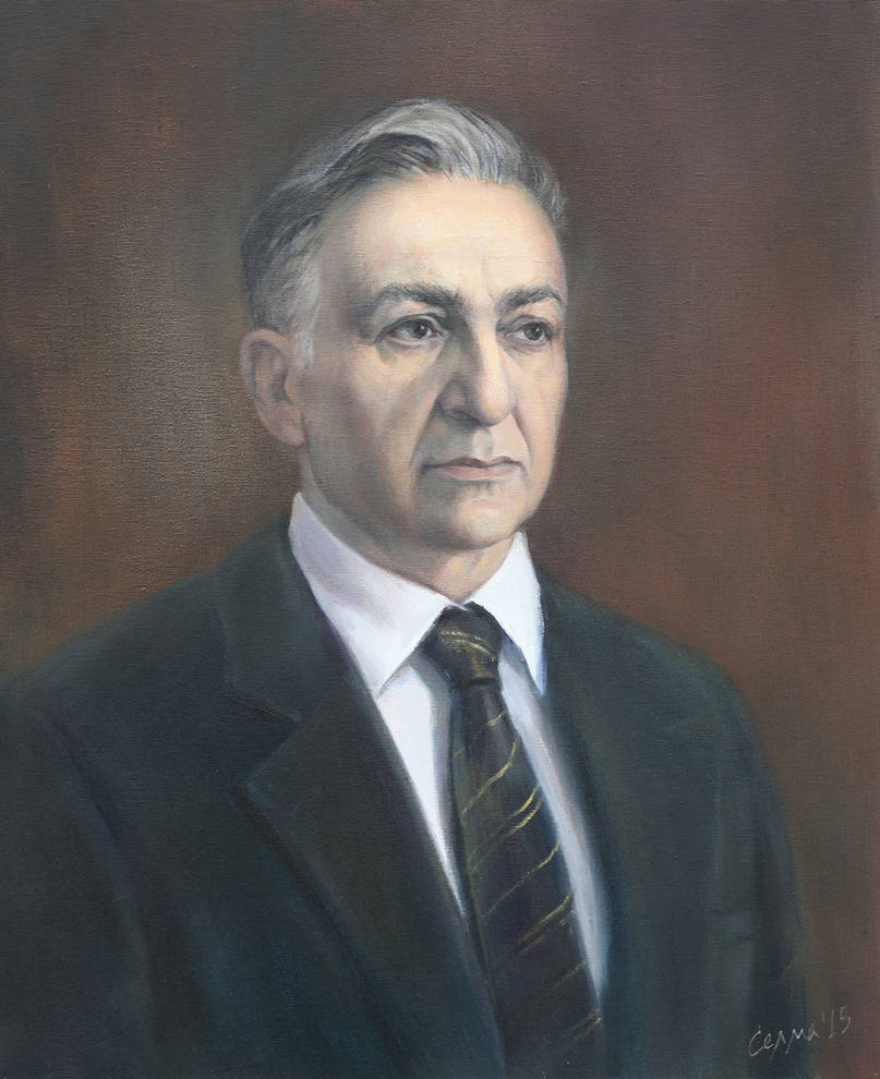 Portrait of Nikola Petkov