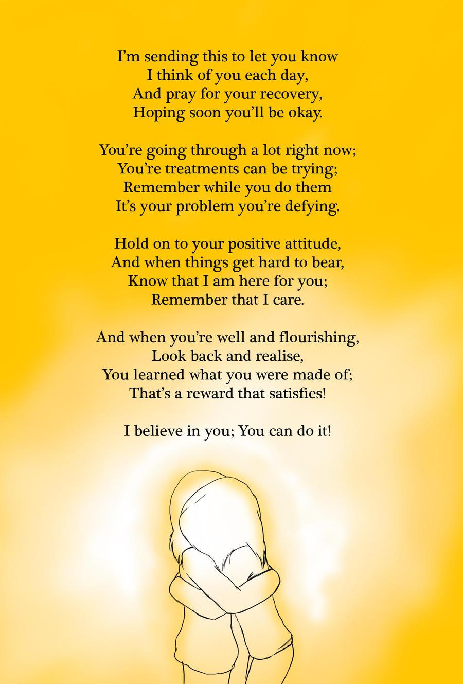 Get Well Soon poem