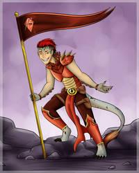 COMMISSION: Dragon War Priest by DaniCojo