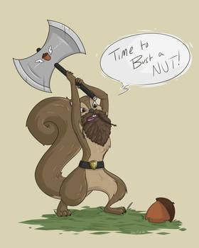 COMMISSION: Dwarven Squirrel