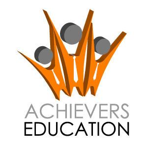 achievers education logo by sidath