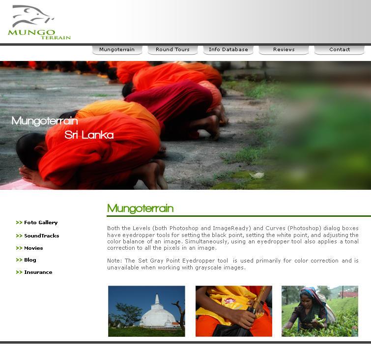 munogoterrain web site by sidath