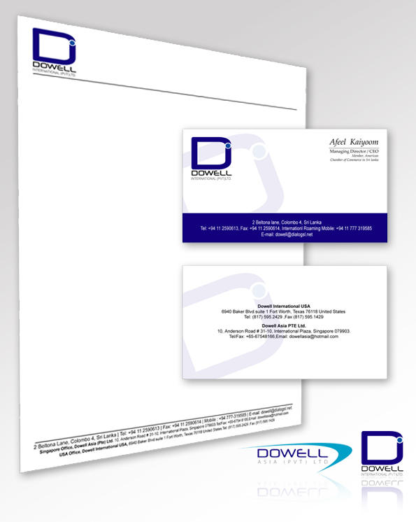 Dowell Corporate Identity by sidath
