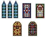 stained-glass windows NEW
