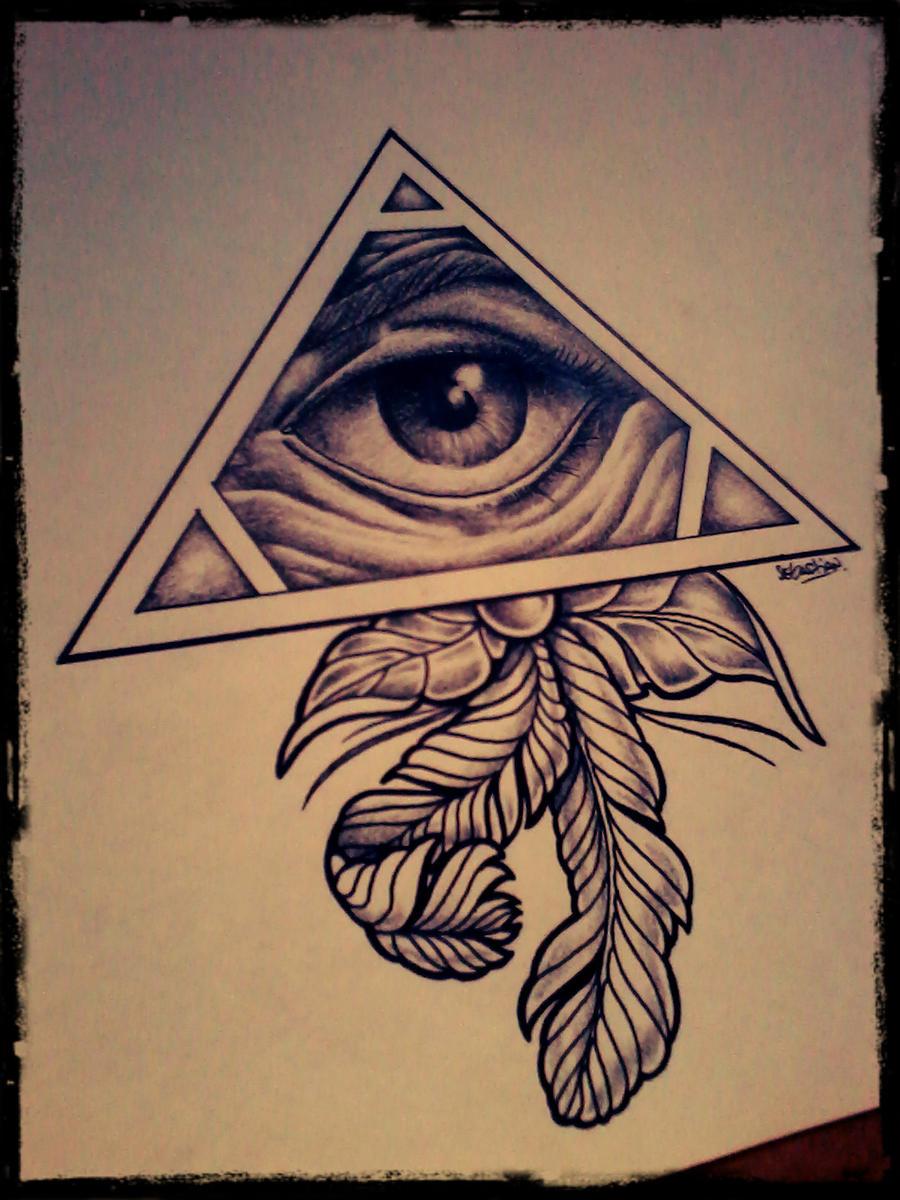 eye tattoo design by gothicghostjcd on deviantart. Black Bedroom Furniture Sets. Home Design Ideas