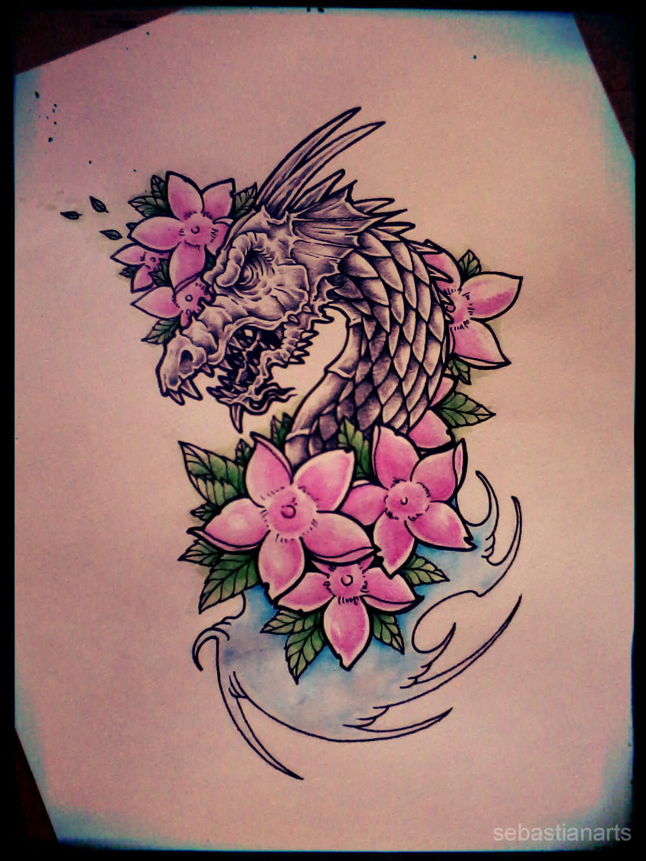 Welsh dragon tattoo designs - Dragon Tattoo Design By Gothicghostjcd
