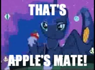 Luna - That's Apple's Mate by Zanbamon
