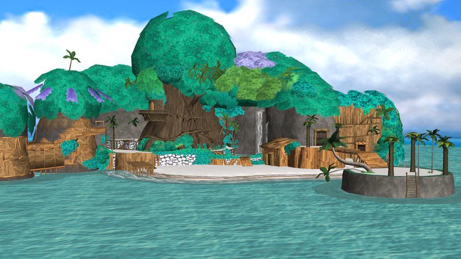 Destiny Islands by o0DemonBoy0o