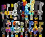 Kingdom Hearts Keyblades