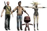 Playstation All-Stars Island - Main Characters