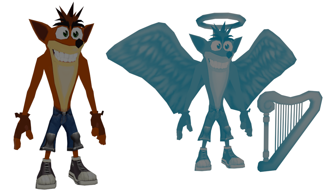 Crash Twinsanity - Crash Bandicoot by o0DemonBoy0o