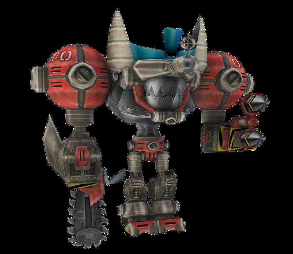 Crash Twinsanity - Mecha Bandicoot by o0DemonBoy0o