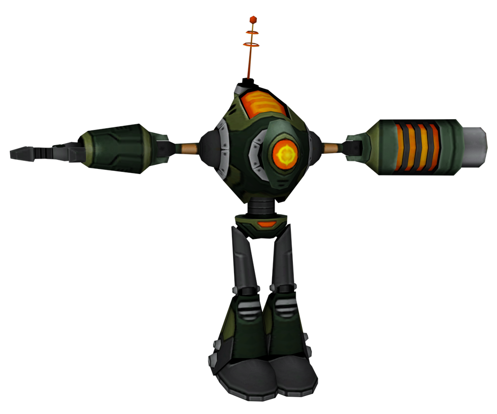 Ratchet and Clank: UYA - Galactic Ranger by o0DemonBoy0o