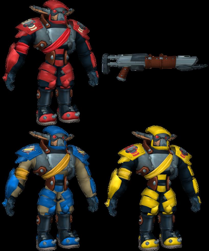 Jak II/3 - Krimzon Guard by o0DemonBoy0o