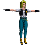 DragonBall XV - Android 18 Vest and Pants Mod