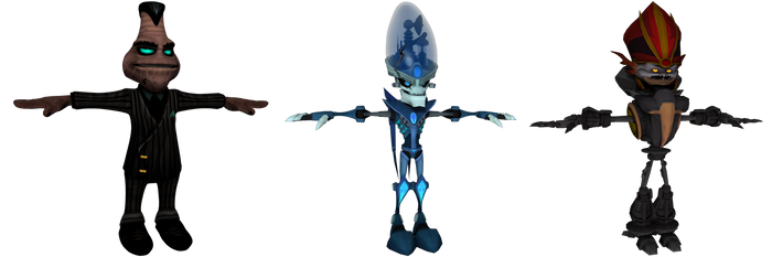 Ratchet and Clank: FFA - Villain Pack by o0DemonBoy0o