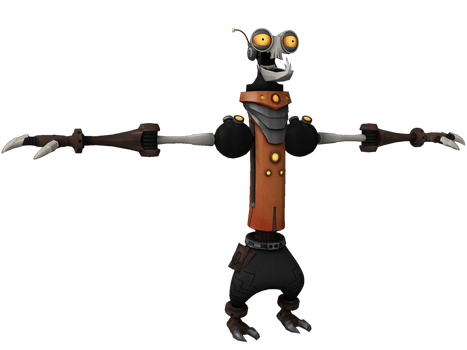 Ratchet and Clank: ToD - Rusty Pete