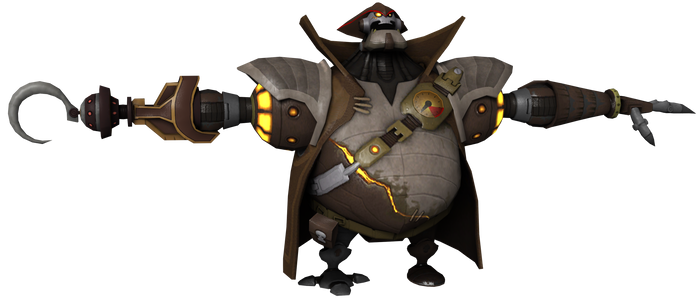 Ratchet and Clank: ToD - Captain Slag