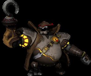 Captain Romulus Slag by o0DemonBoy0o