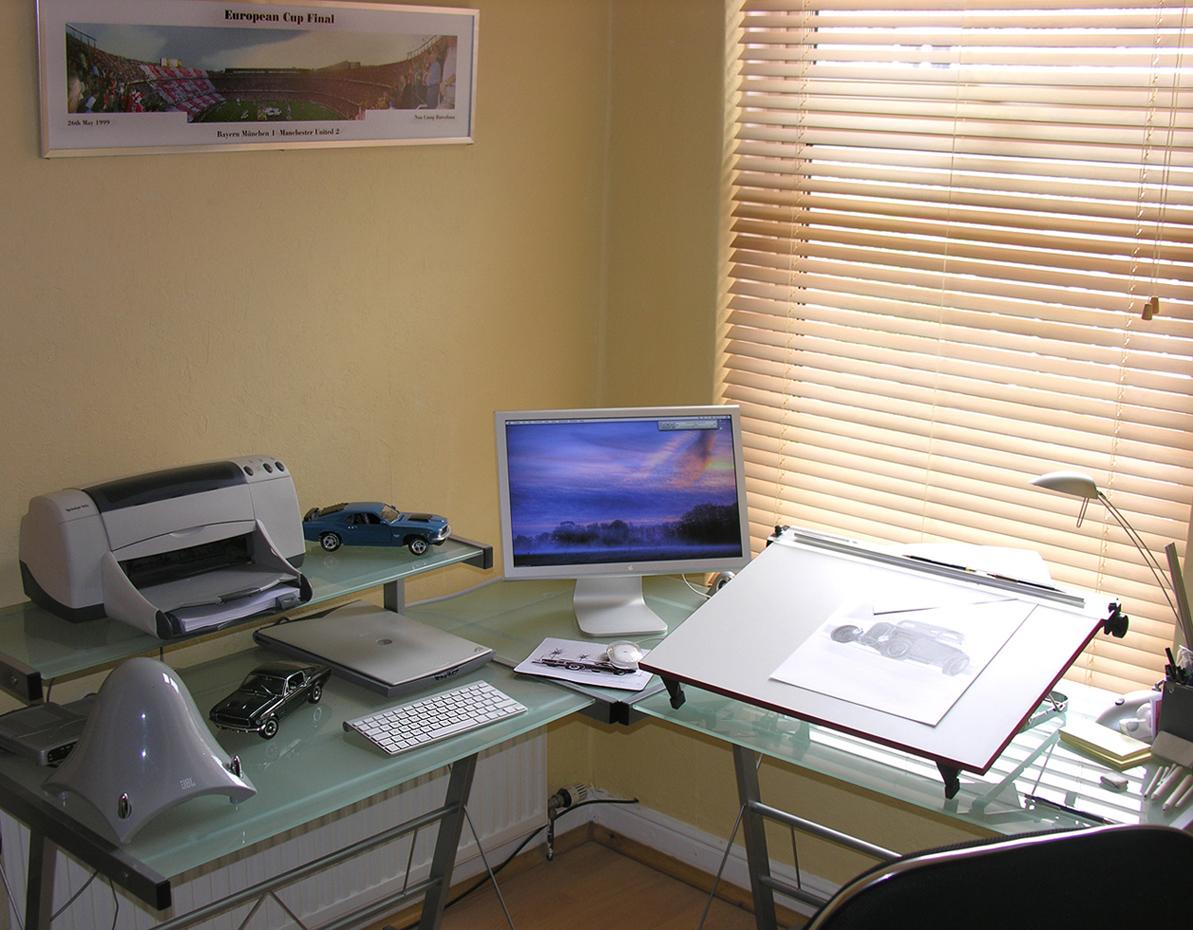 My workplace.. by Boss429