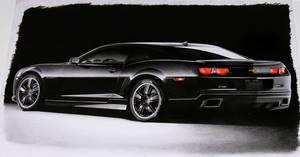2010 Camaro BLACK by Boss429