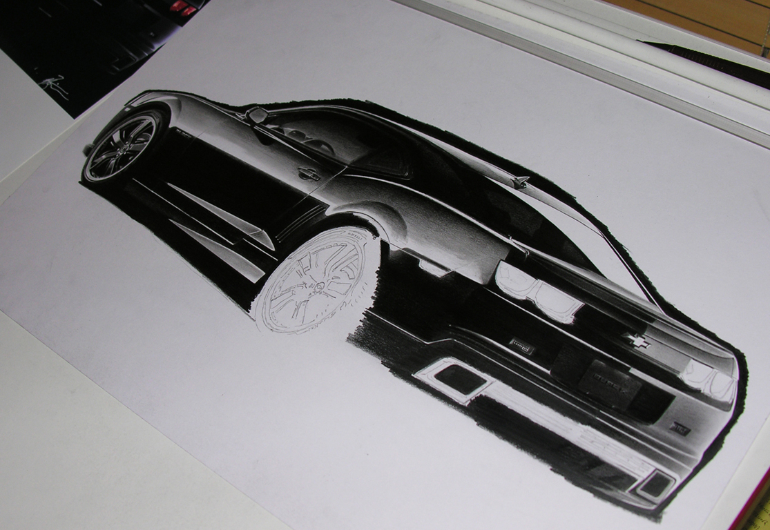 Camaro BLACK WIP2 by Boss429