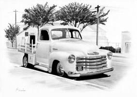Chevy stepside pickup by Boss429